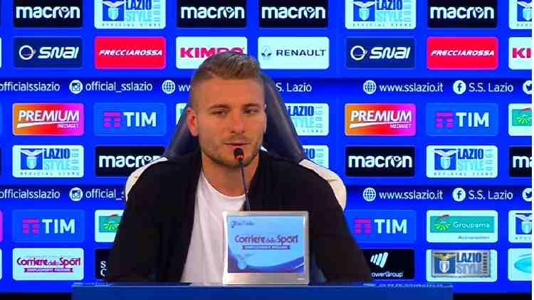 Ciro Immobile attaccante Lazio