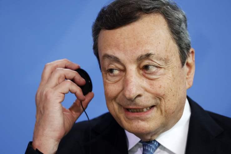 Mario Draghi, premier