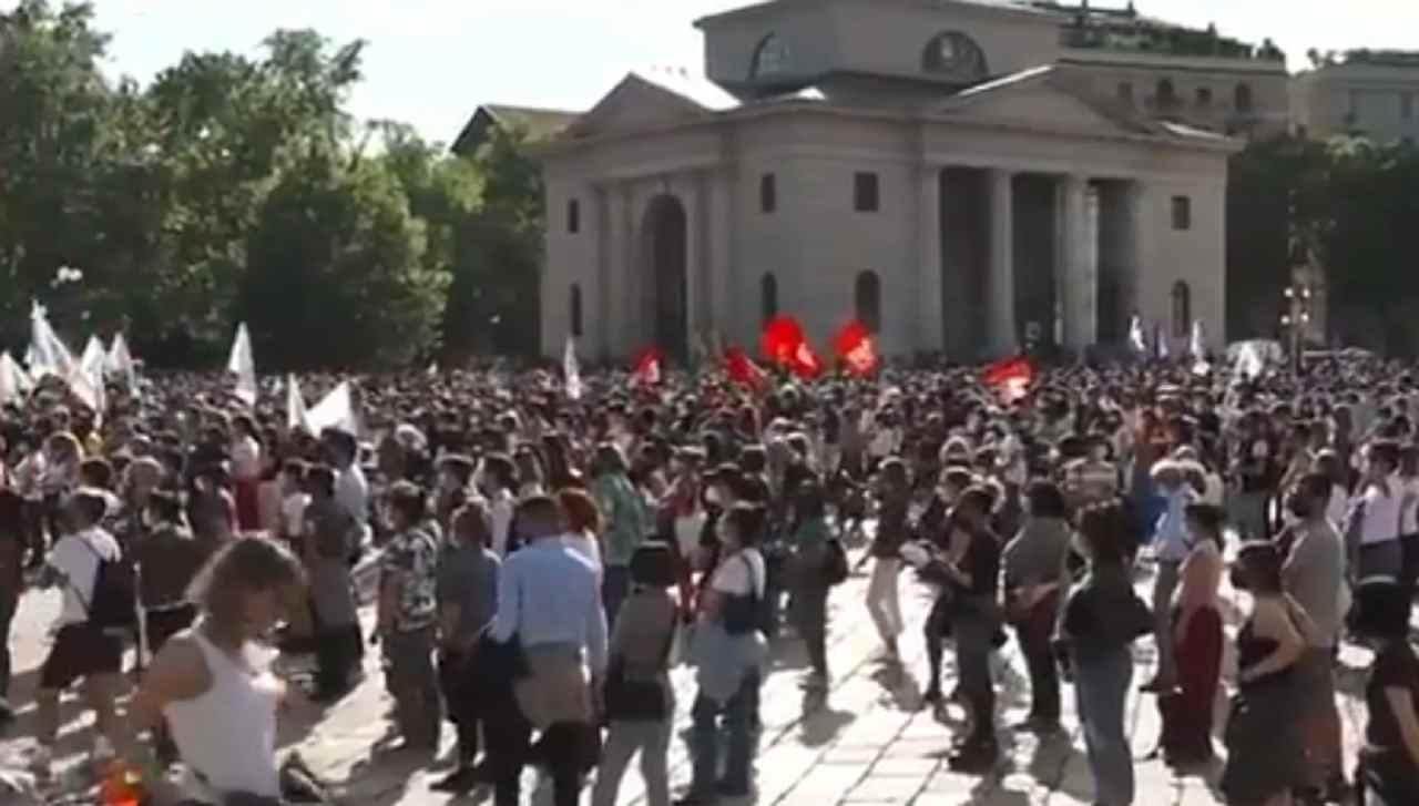 Manifestazione per il DDL Zan