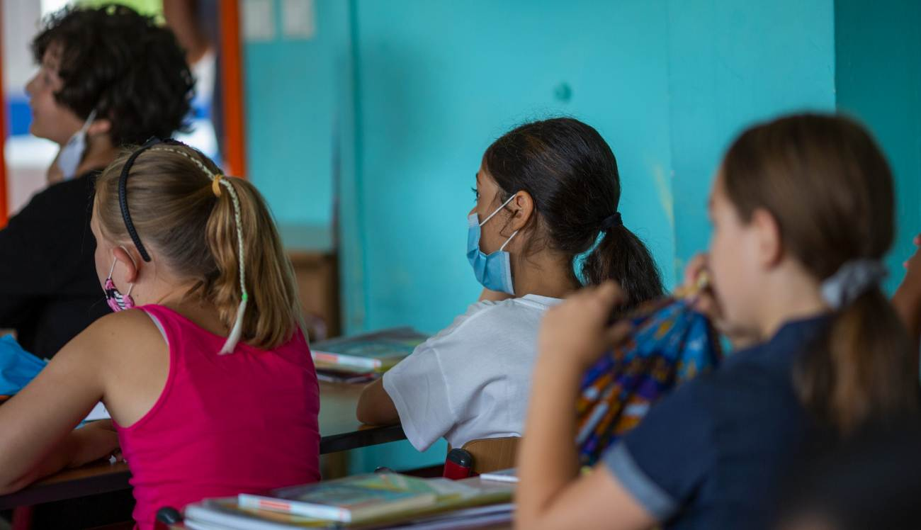 mascherina bambini scuola