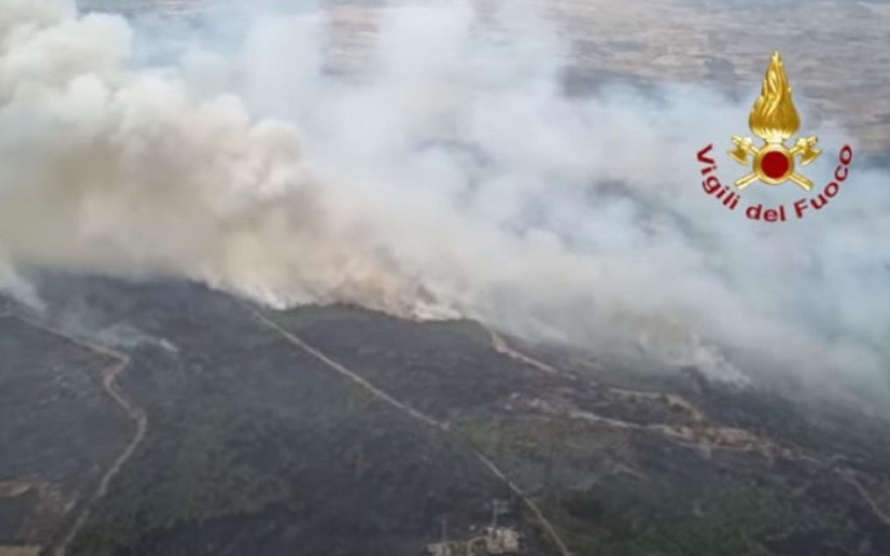 Incendi Sardegna
