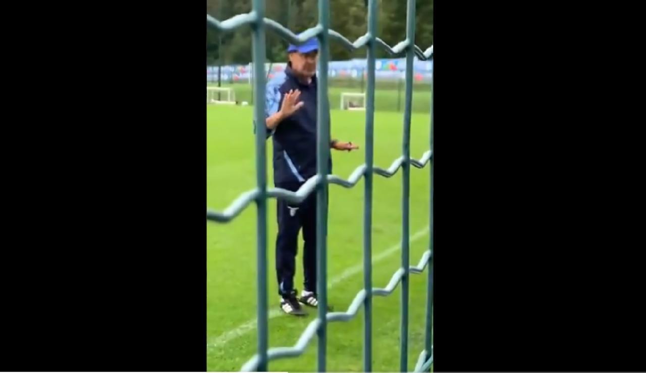 Sarri allenatore Lazio