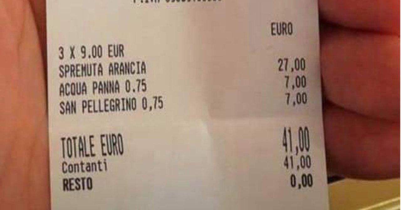 spremute 41 euro