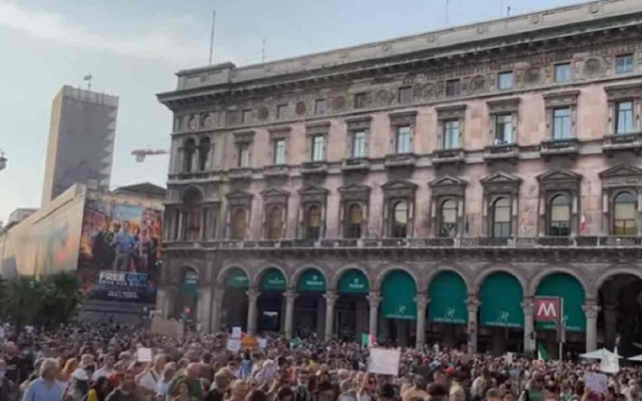Milano proteste