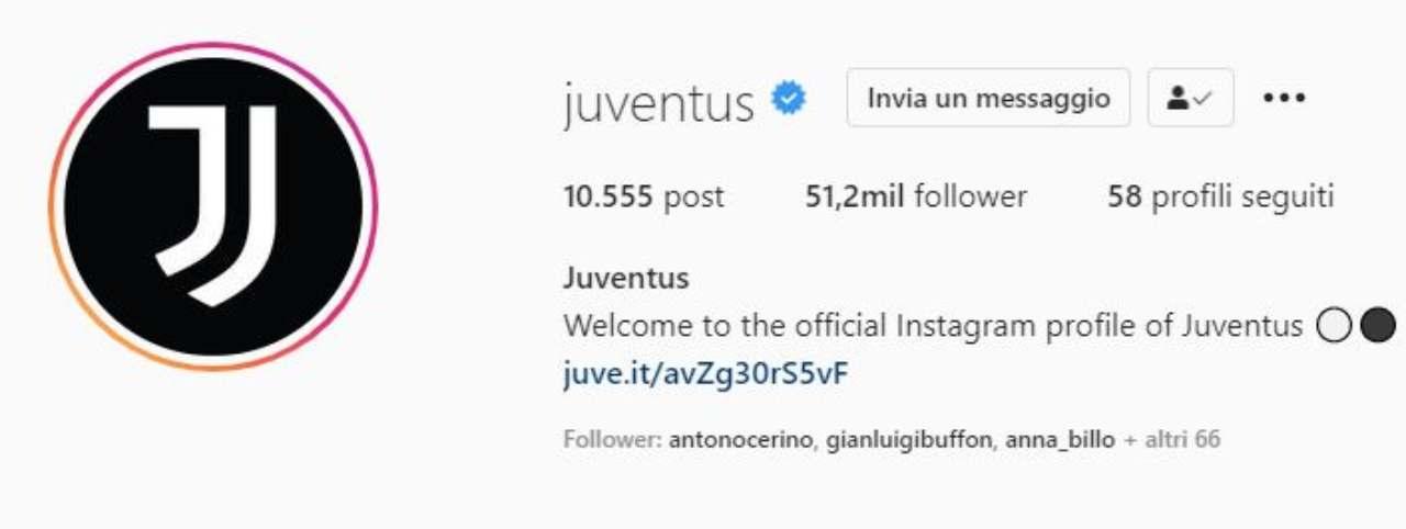 Followers Juventus