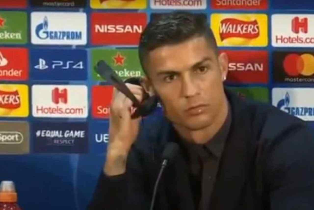 Ronaldo Juventus social