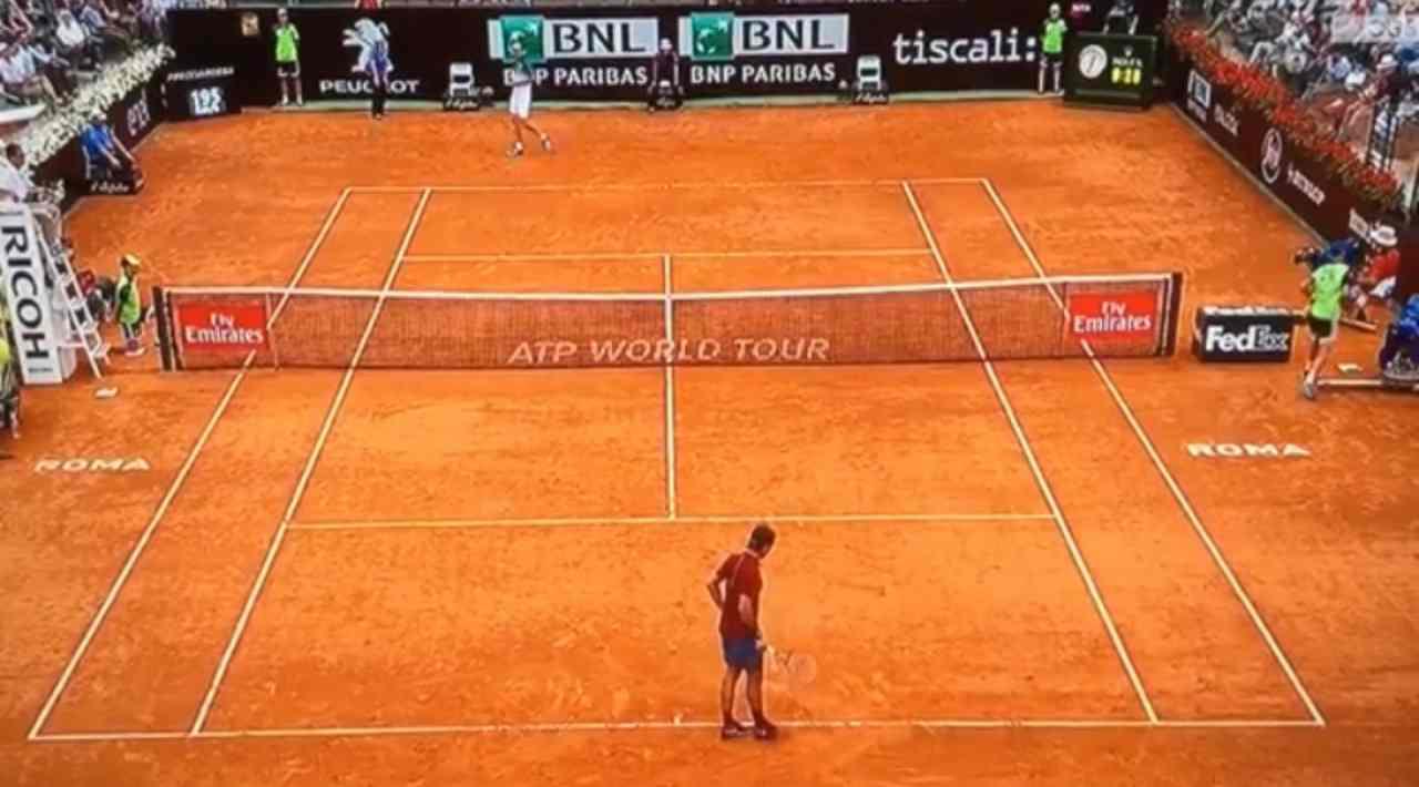 tennis raccattapalle
