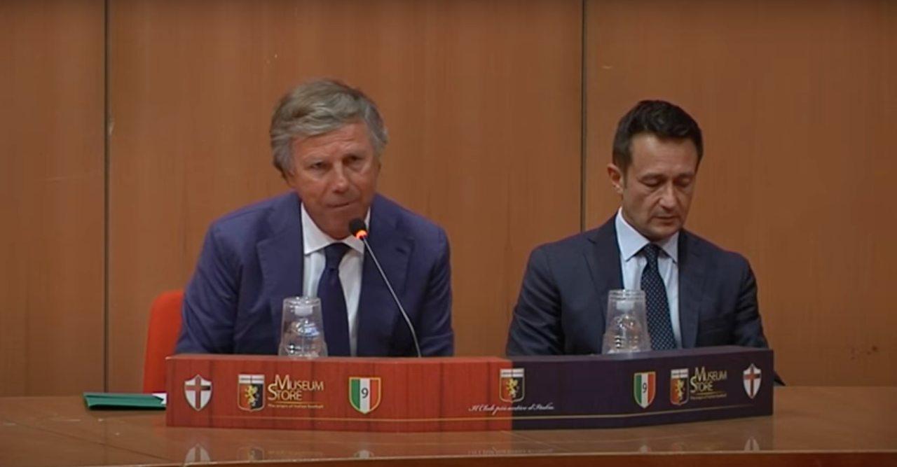 Enrico Preziosi presidente del Genoa per 18 anni