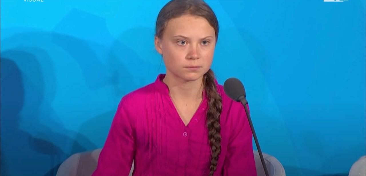 Greta Thunberg, giovane attivista svedese