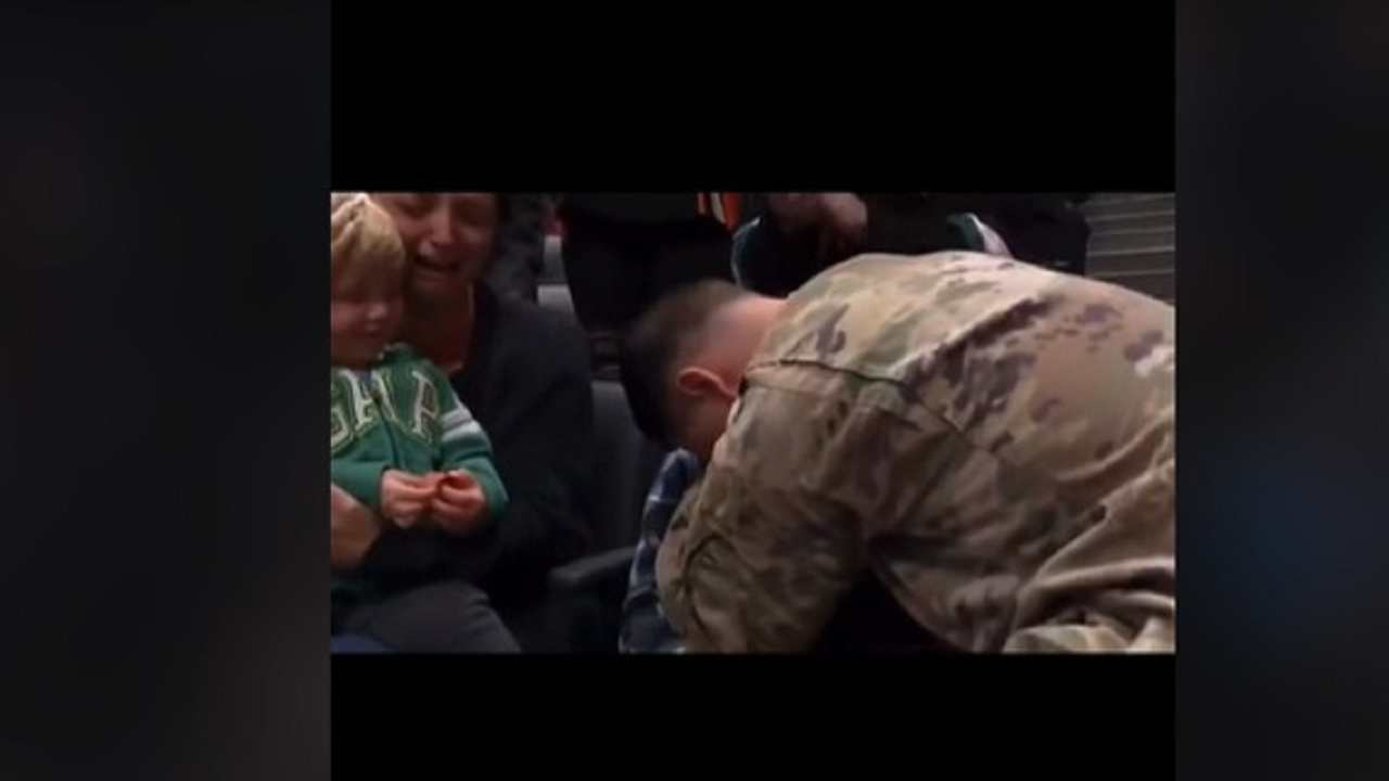 Militare famiglia