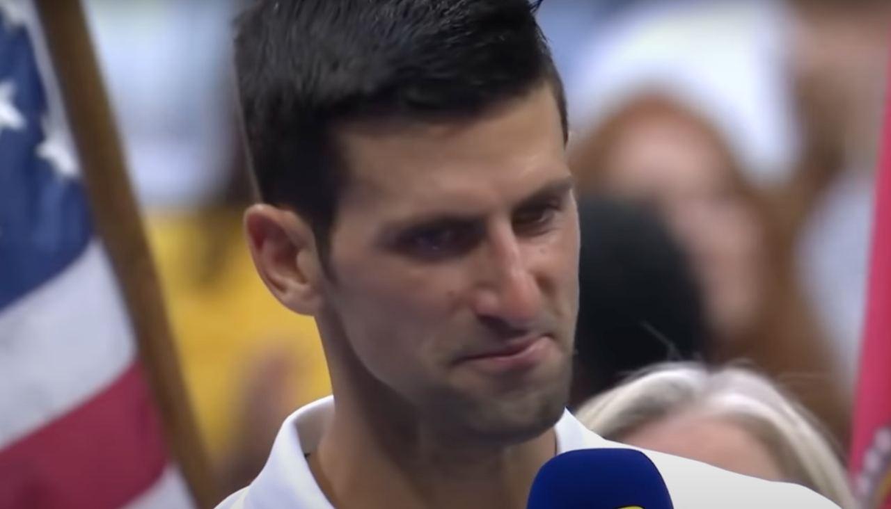 Djokovic parla dopo la sconfitta in finale agli US Open