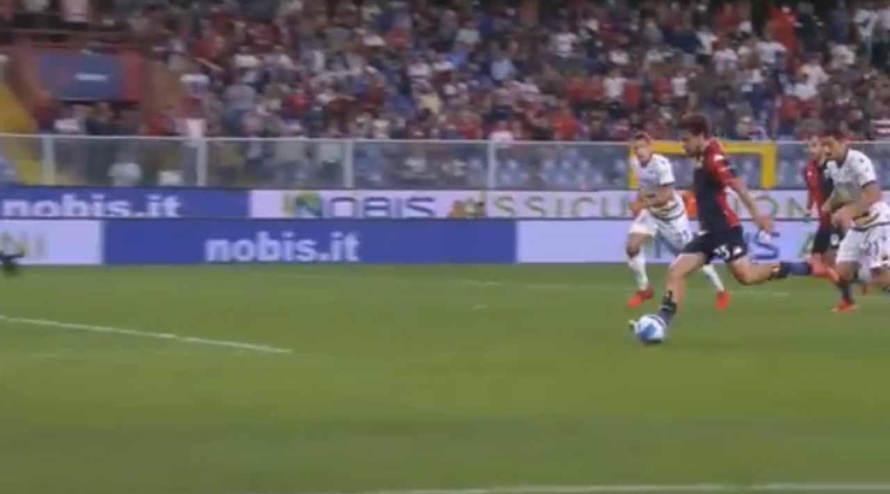 Genoa Verona Destro