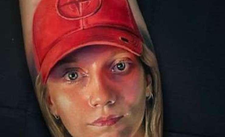 Irina Loktionova tatuaggio