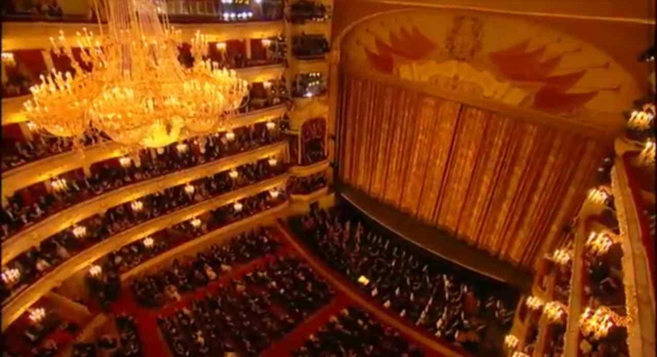 tragedia al teatro Bolshoi